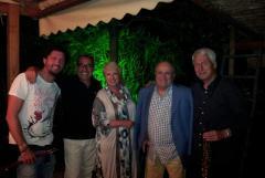 The Sultans con Codacci, Lynn, Grandi e Tacconi