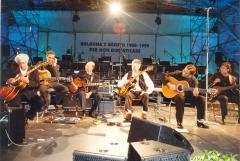With Coryell, Al Di Meola, Lama, Mancinelli....