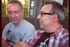 Con Paolo Amulfi