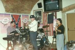 Anni '80 con Marco Pezzola, Fabio Morgera e Walter Paoli